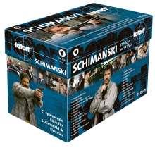 Tatort: Ermittlerbox-Schimanski (Sonderedition), 14 DVDs