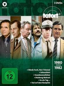 Tatort - Klassiker 80er Box 1 (1980-1982), 3 DVDs