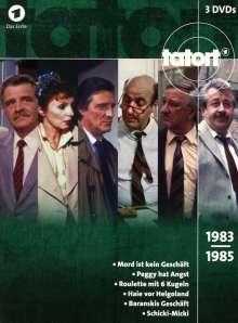 Tatort - Klassiker 80er Box 2 (1983-1985), 3 DVDs