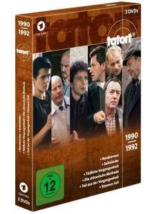 Tatort - Klassiker 90er Box 1 (1990-1992), 3 DVDs