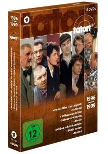 Tatort - Klassiker 90er Box 3 (1996-1999), 4 DVDs