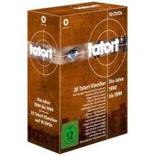 Tatort - Klassiker 90er Box 1-3 (1990-1999), 10 DVDs
