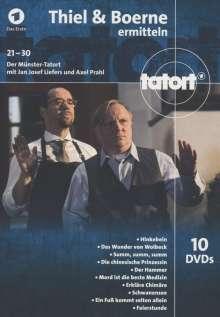 Tatort Münster - Thiel und Boerne ermitteln Fall 21-30, 10 DVDs