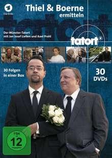 Tatort Münster - Thiel und Boerne ermitteln Fall 1-30, 30 DVDs
