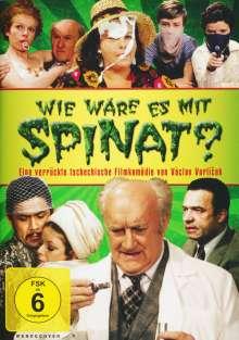 Wie wäre es mit Spinat?, DVD