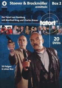 Tatort Hamburg - Stoever & Brockmöller ermitteln Box 2, 20 DVDs