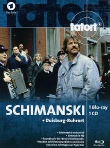 Tatort: Schimanski - Duisburg-Ruhrort (Blu-ray & CD im Mediabook), 2 Blu-ray Discs