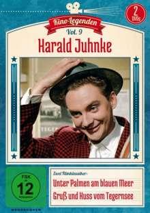 Harald Juhnke: Unter Palmen am blauen Meer / Gruß und Kuss vom Tegernsee, 2 DVDs