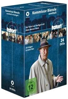 Tatort Stuttgart - Kommissar Bienzle ermittelt, 24 DVDs