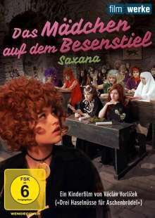 Das Mädchen auf dem Besenstiel (Saxana), DVD