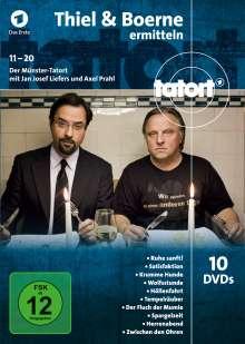 Tatort Münster - Thiel und Boerne ermitteln Fall 11-20, 10 DVDs