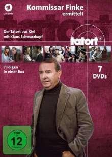 Tatort Kiel - Kommissar Finke ermittelt Fall 1-7, 7 DVDs