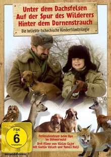 Unter dem Dachfelsen / Auf der Spur des Wilderers / Hinter dem Dornenstrauch, 3 DVDs
