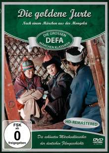 Die goldene Jurte, DVD