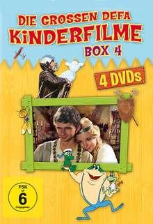 Die grossen DEFA Kinderfilme Box 4, 4 DVDs
