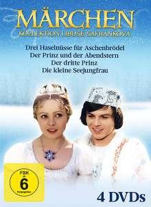 Märchen Kollekion mit Libuše Safránková, 4 DVDs