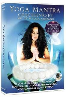Canda & Guru Atman: Yoga Mantra Geschenkset mit CD & Yoga Armband (Limited Edition), CD