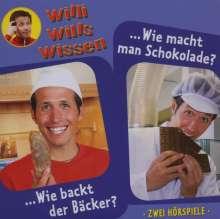 Willi wills wissen - Wie macht man Schokolade? (1), CD
