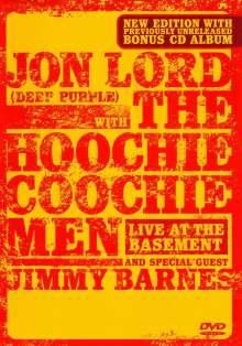 Jon Lord & The Hoochie Coochie Men: Live At The Basement 2003 (DVD + CD), 2 DVDs