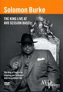 Solomon Burke: The King Live At Avo Sessions, DVD