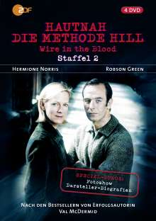 Wire in the Blood Staffel 2 (Hautnah - Die Methode Hill), 4 DVDs