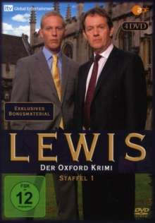 Lewis: Der Oxford Krimi Season 1, 4 DVDs