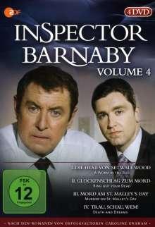 Inspector Barnaby Vol. 4, 4 DVDs