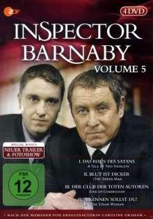 Inspector Barnaby Vol. 5, 4 DVDs