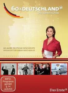60 x Deutschland - Die Jahresschau mit Sandra Maischberger, 6 DVDs