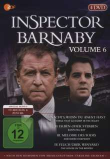 Inspector Barnaby Vol. 6, 4 DVDs