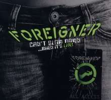 Foreigner: Can't Slow Down...When It's Live!, 2 CDs