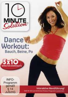 10 Minute Solution - Dance Workout, DVD