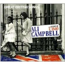 Ali Campbell: Great British Songs (CD + DVD), CD