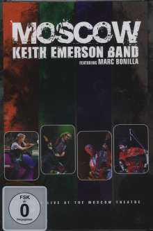 Keith Emerson: Moscow (Live At The Moscow Theatre 2008), DVD