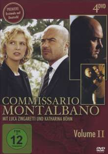 Commissario Montalbano Vol.2, 4 DVDs