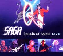 Saga: Heads Or Tales: Live, CD