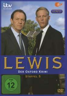 Lewis: Der Oxford Krimi Season 5, 4 DVDs