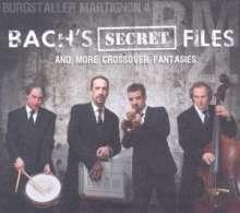 Burgstaller Martignon 4: Bach's Secret Files & More Crossover Fantasies, CD