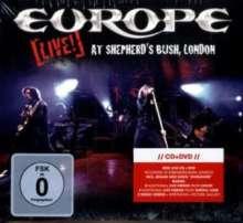 Europe: Live! At Shepherd's Bush, London, 1 CD und 1 DVD