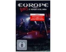 Europe: Live! At Shepherd's Bush, London, DVD
