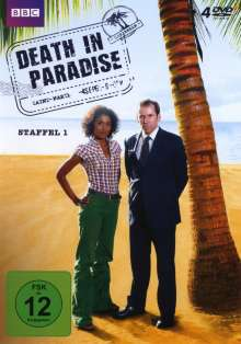 Death In Paradise Staffel 1, 4 DVDs