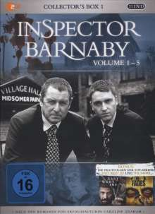 Inspector Barnaby Collector's Box 1 (Vol. 01-05), 21 DVDs