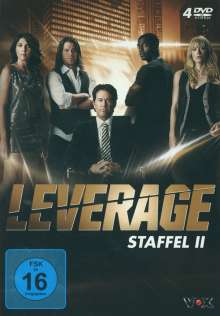 Leverage Season 2, 4 DVDs