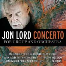 Jon Lord (1941-2012): Concerto For Group And Orchestra (Standard Edition), CD