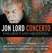 Jon Lord (1941-2012): Concerto For Group And Orchestra (Digisleeve) (Limited-Edition), 1 CD und 1 DVD