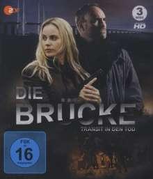 Die Brücke - Transit in den Tod Staffel 1 (Blu-ray), 3 Blu-ray Discs