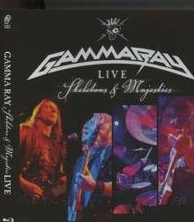 Gamma Ray (Metal): Live-Skeletons & Majesties, Blu-ray Disc