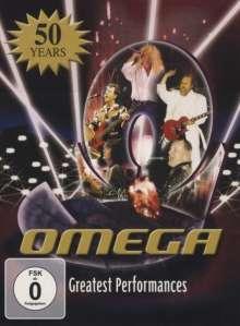 Omega: Greatest Performances, 2 DVDs