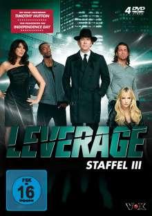 Leverage Season 3, 4 DVDs