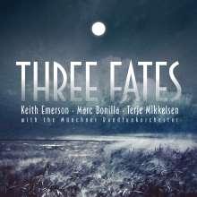 Keith Emerson, Marc Bonilla & Terje Mikkelsen: Three Fates, CD
